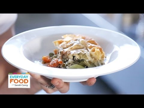Lighter Chicken Pot Pie - Everyday Food with Sarah Carey - YouTube