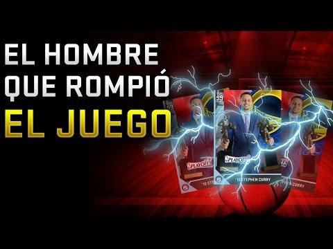 STEPHEN CURRY 99 MEDIA PLAYOFFS! EL HOMBRE QUE ROMPIÓ EL JUEGO | NBA 2K16 MyTeam