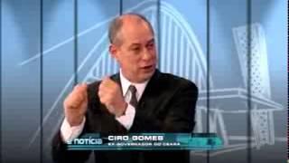 Ciro Gomes fala sobre Marina Silva