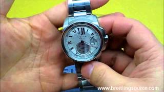 Cartier Calibre Automatic Watch Review In-House Movement