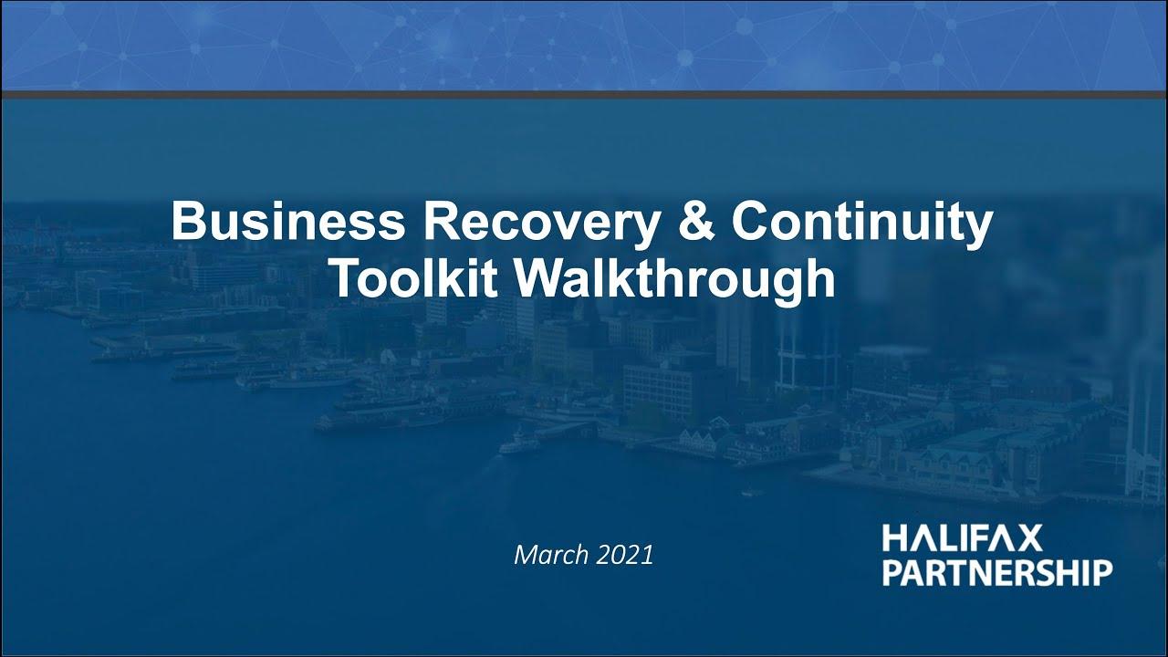 Toolkit Walkthrough