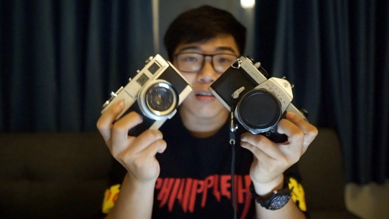 Phân biệt 2 loại máy ảnh film/phim SLR và Rangefinder | Tìm hiểu về máy film