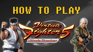 How to play Virtua Fighter 5 Final Showdown