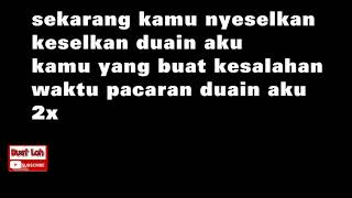 (Lyric Video) Lagu Balasan Buat Young Lex Ft. MASGIB - Nyeselkan