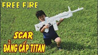 "Chế Tạo Súng ""Scar Đẳng Cấp TiTan"", How To Make Gun Scar TiTan | Free Fire"
