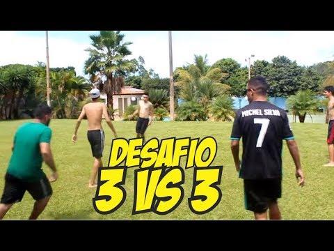 DESAFIO 3 vs 3 Time do MS2 vs Time do Castor
