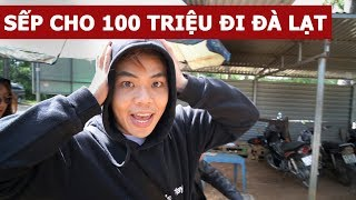Sếp cho 100 triệu để tụi mình đi Đà Lạt (Oops Banana Vlog #77)