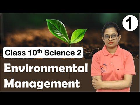 Environmental Management Class 10th Part 1