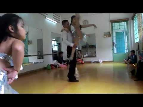 Nhà thiếu nhi quận 1   HLV Hữu Thanh Dancesport 9 8 14 show C