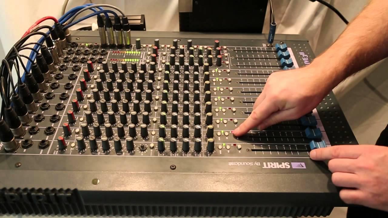 soundcraft spirit live 3 2 testing youtube rh youtube com Spirit Band Live Book Spirit Lives