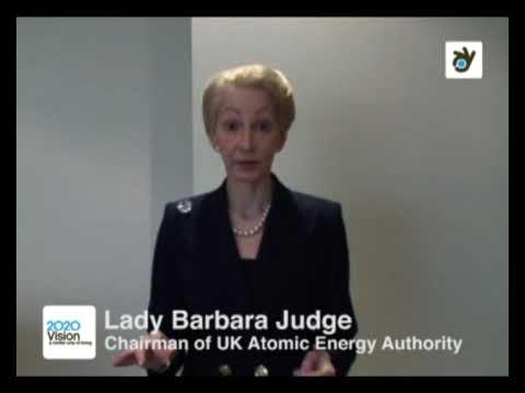 Lady Barbara Judge, Atomic Energy Authority, on nuclear energy