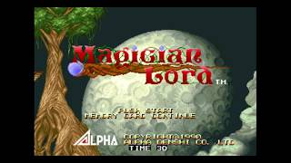 Magician Lord Neo Geo Gameplay