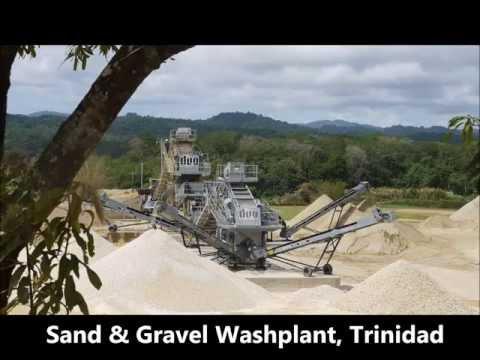 Trinidad Sand and Gravel Washplant Mp3
