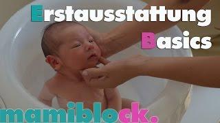 Basics für Babys Erstausstattung: Pflege Teil 4/4 | mamiblock - Der Mami Blog