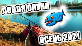 Рыбалка на окуня Осень 2021