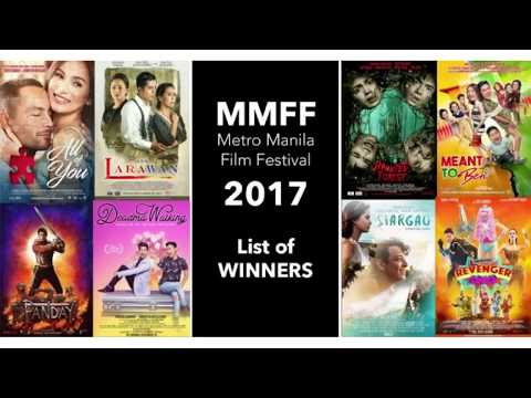 MMFF 2017 WINNERS | FULL LIST | 43rd Metro Manila Film Festival