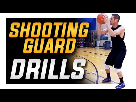 3 Shooting Drills Every Shooting Guard NEEDS: Basketball Shooting Drills