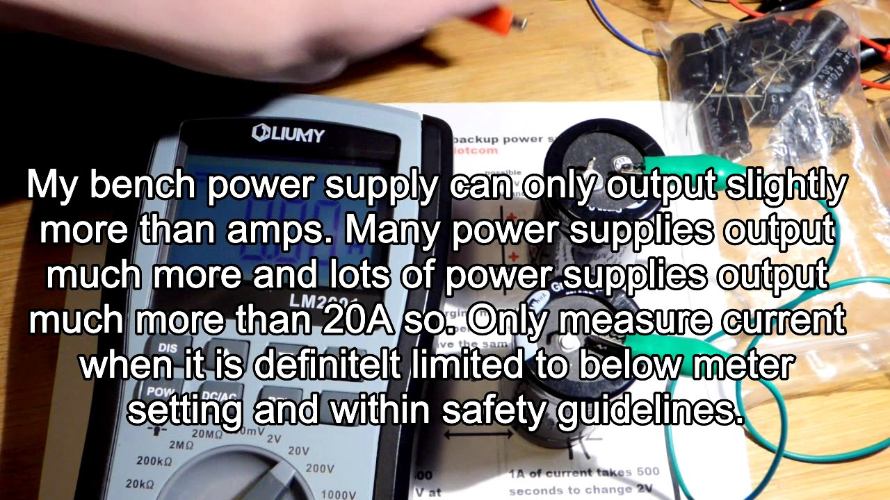 Charging 2 cheap so called 500F supercapacitors in series to see how  unbalanced they become