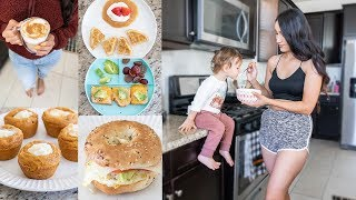 WHAT MY BABY AND I EAT IN A DAY // Easy Meal Ideas for Baby
