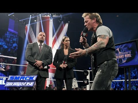 """Chris Jericho's """"Highlight Reel"""" with special guests The Authority: SmackDown, November 14, 2014 thumbnail"""
