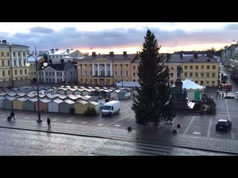 Helsinki and December life