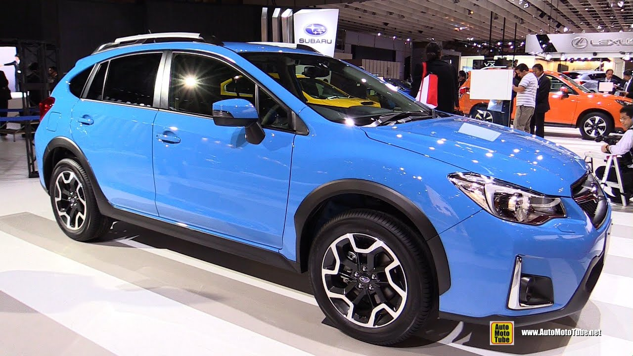 2016 Subaru XV Arrives In The UK With Improved Quality And New Tech