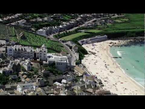 Aerial views of Cornwall