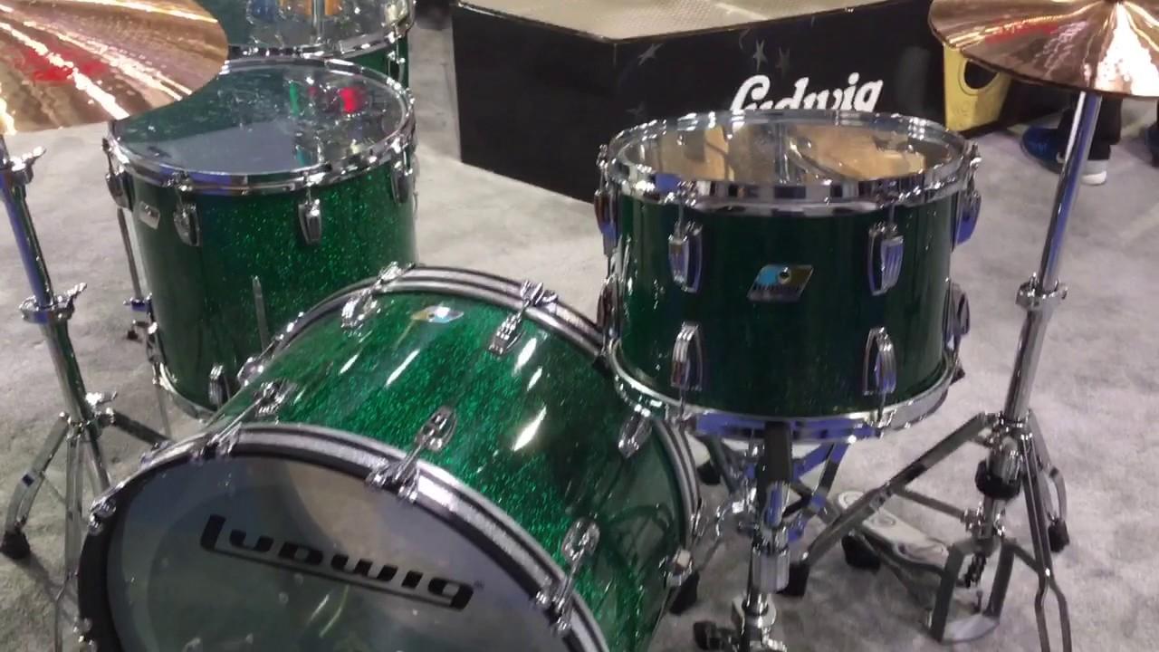 Ludwig Vista Lite Drums : harmony central winter 2017 ludwig 45th vistalite anniversary green sparkle acrylic drum set ~ Vivirlamusica.com Haus und Dekorationen