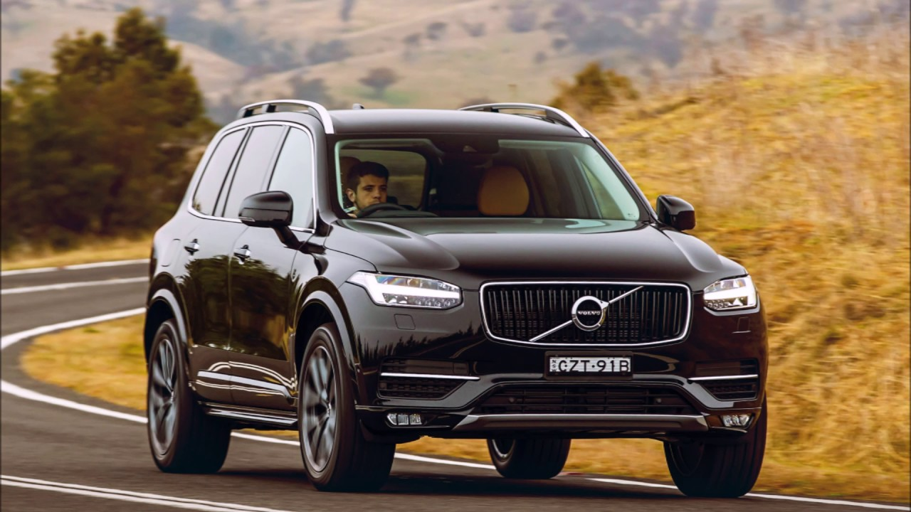2018 volvo xc90 momentum first look youtube. Black Bedroom Furniture Sets. Home Design Ideas