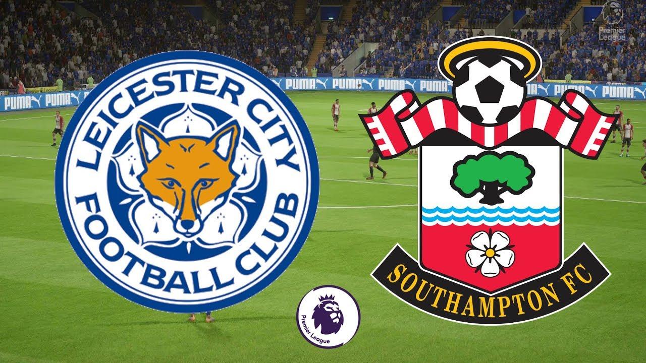 Premier League 2017/18 - Leicester City Vs Southampton - 19/04/18 - FIFA 18  - YouTube