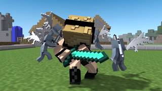 Best Psycho Girl Song vs Hackers! Epic Minecraft Animations (Top Minecraft Songs )