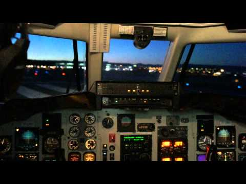 Very Early takeoff from Reykjavik Airport, Iceland, Eagle Air of Iceland Jetstream