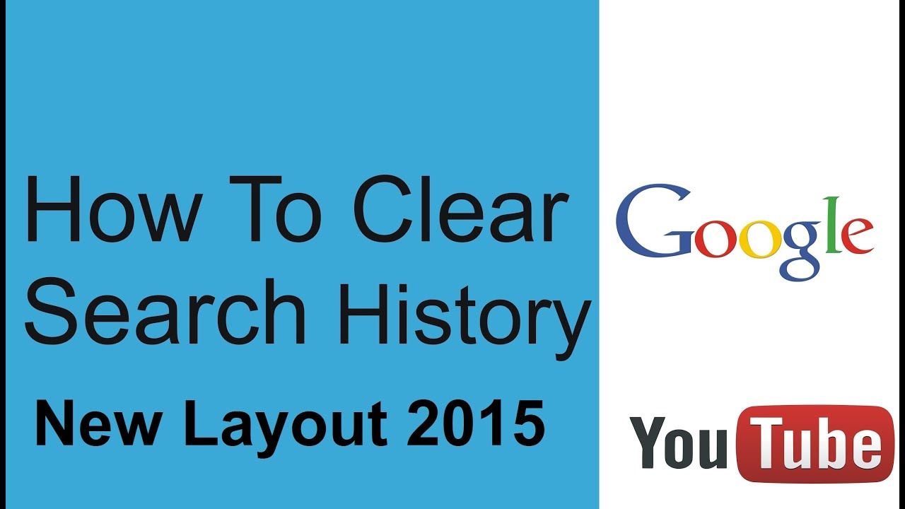Google Clear Search History