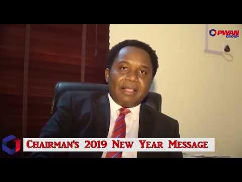 CHAIRMAN PWAN HOMES NEW YEAR MESSAGE.