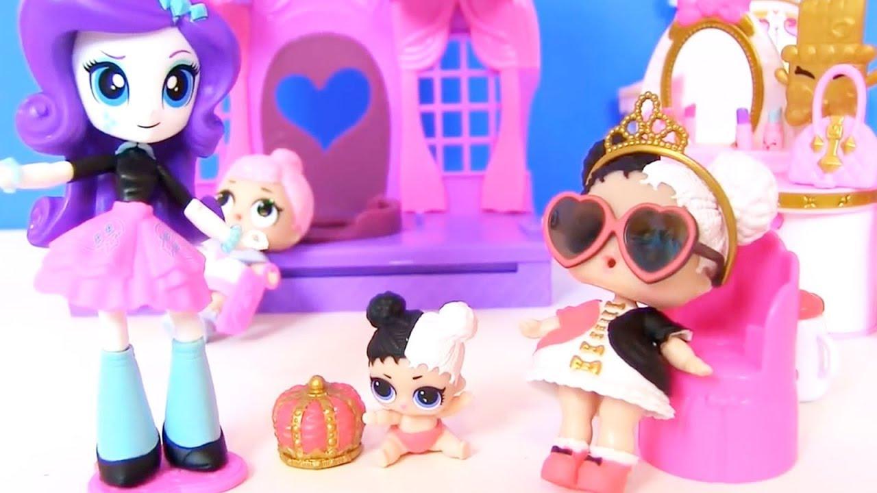 Куклы Лол Мультик! Папа и Мама для Пупсов Лол! Салон Пони ...