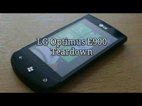 FIX LG optimus E900 digitized, reparar cristal LG E900