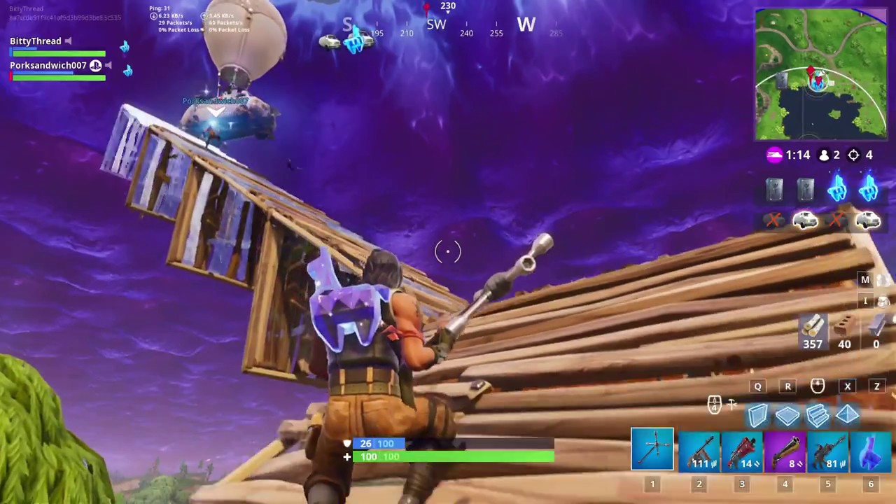 Carrying  Llama Jewels To The Van Fortnite High Stakes
