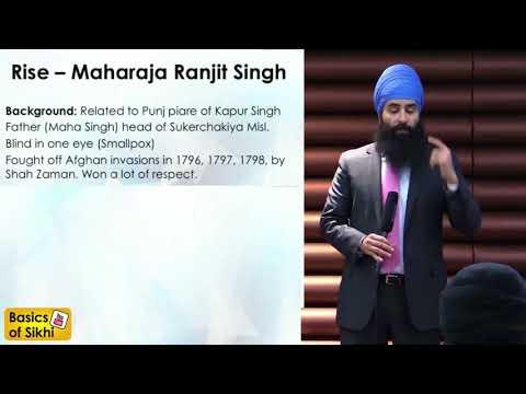 History of Sikh Empire In English Bhai Jagraj Singh Basic of Sikhi wale