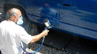 PAINTING MY 97 TAHOE, OUTSIDE!!!