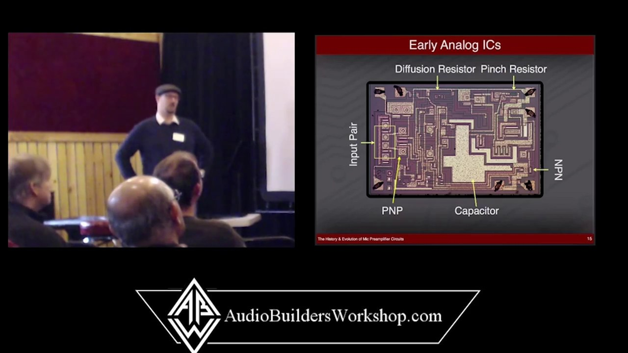 History Evolution Of Mic Preamplifier Circuits Peter Gaskell Lm358 Audio Lifier Schematic Further Electret Microphone Circuit Builders Workshop