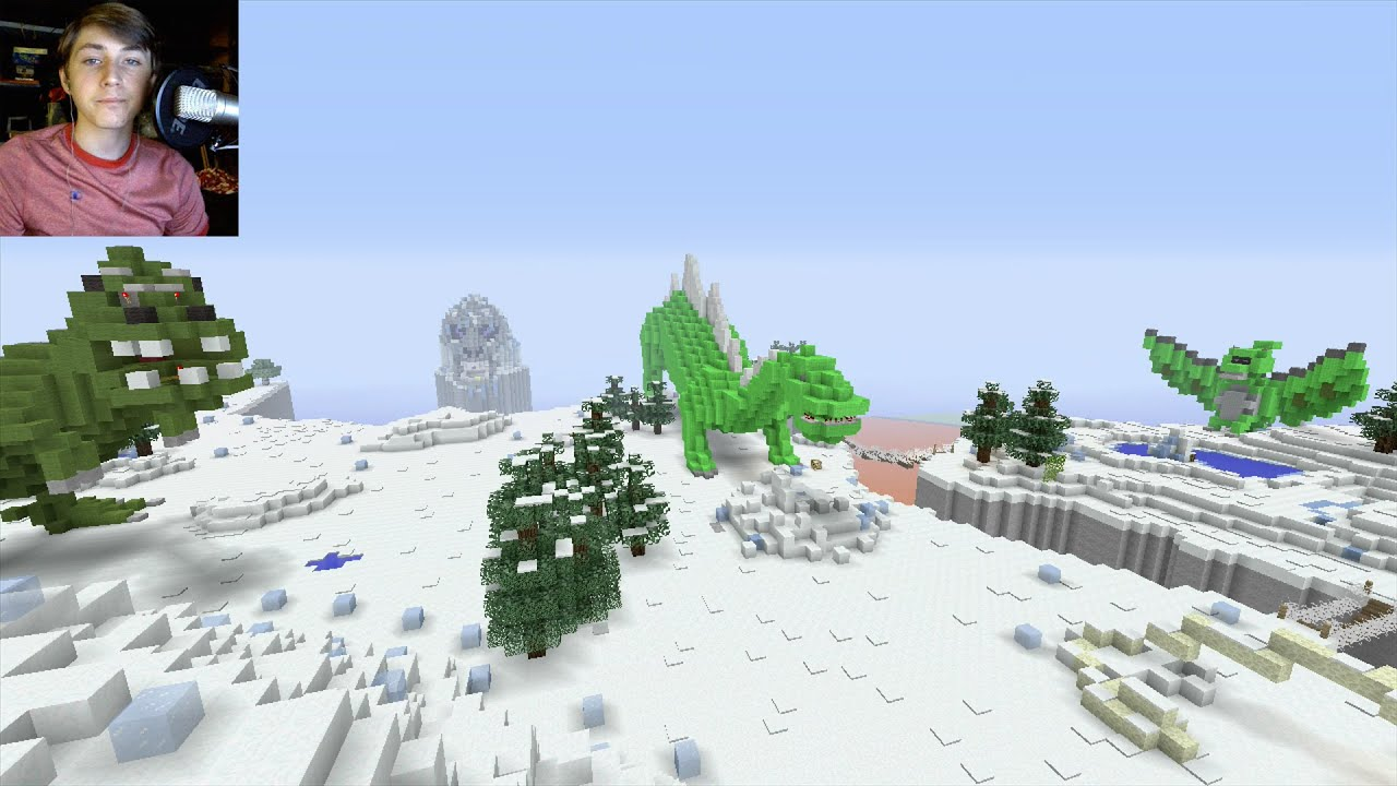 Minecraft Xbox - Jurassic Lights Out - Hunger Games With