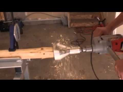 Lumberjack Tools Industrial Series Tenon Cutter Youtube
