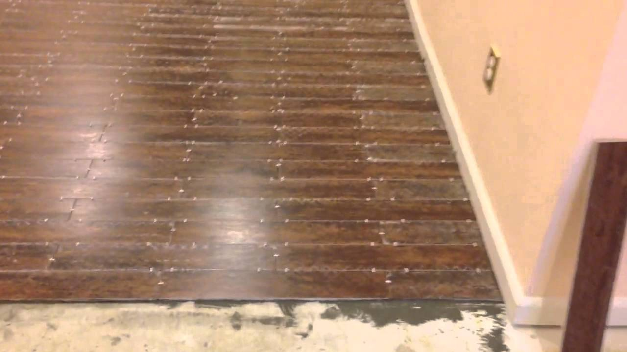 Tile floor the looks like wood youtube dailygadgetfo Image collections