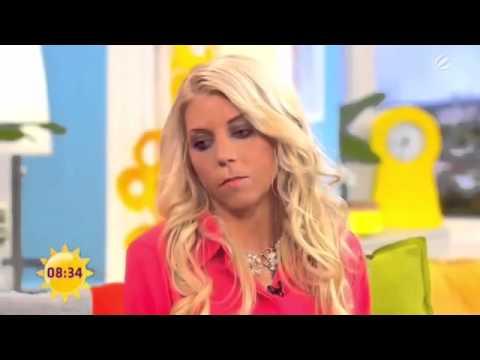 Die dümmste Frau der Welt zu Gast im Sat.1 Frühstücksfernseh