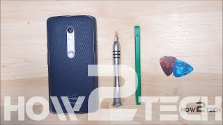 Motorola Moto X Play - Droid Maxx 2 Teardown - Disassembly