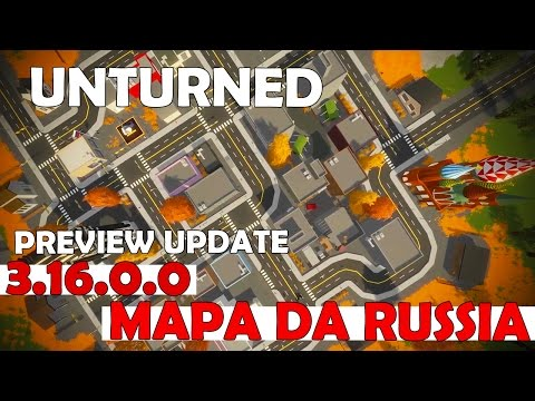 Unturned Preview UPDATE 3.16.0.0 - Mapa da Russia