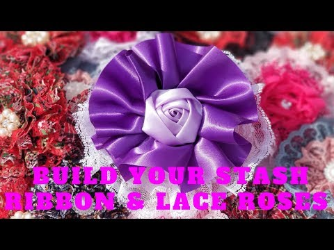 build-your-stash-purple-ribbon-and-lace-flower.-how-to-make-a-ribbon-and-lace-flower-tutorial.