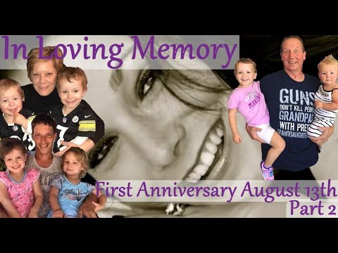 Shanann, Bella, Celeste & Nico Watts Tribute For The First Year Anniversary