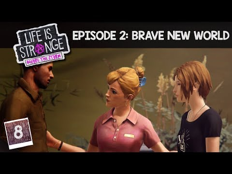RESET BUTTON PRESSED - Part 8 - LIFE IS STRANGE BEFORE THE STORM [BLIND] - EPISODE 2 - Let's Play