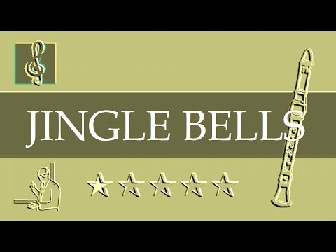 Recorder notes tutorial - Christmas song - Jingle Bells (Sheet music)